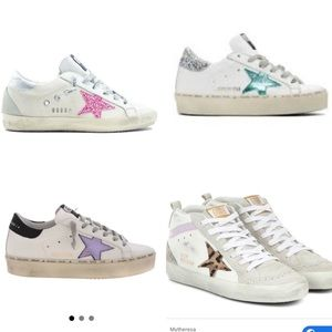 ISO size 38 or 38.5 mid star, hi star golden goose